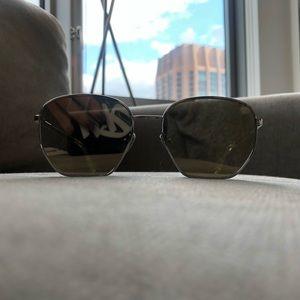 Le Specs Luxe Mirrored Sunglasses